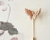 vintage style butterfly brooch - RabbitsFantasyWorld