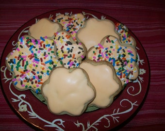 Everyday Frosted Sugar Cookies