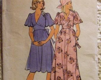 Butterick Pattern no. 4161   Size 9  For Miss  Dress Pattern