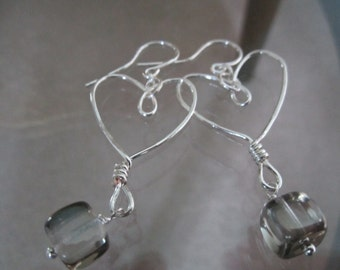 Big hearts in sterling silver