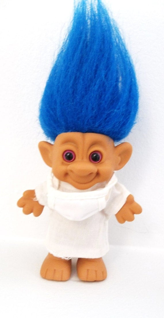1990s Troll Dolls Doctor troll doll - 1990s