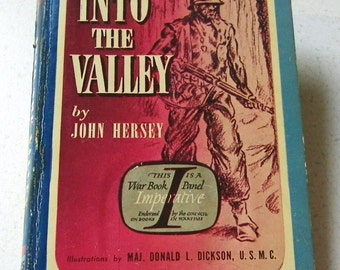 Pocket Book 225 Into the Valley by John Hersey A Skirmish of the Marines