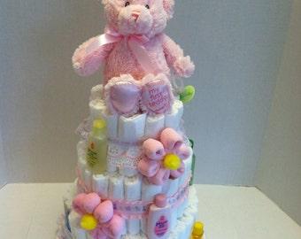 Pink First Teddy Bear