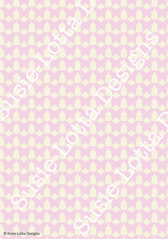 Items similar to butterfly party theme a4 wrapping paper for Themed printer paper