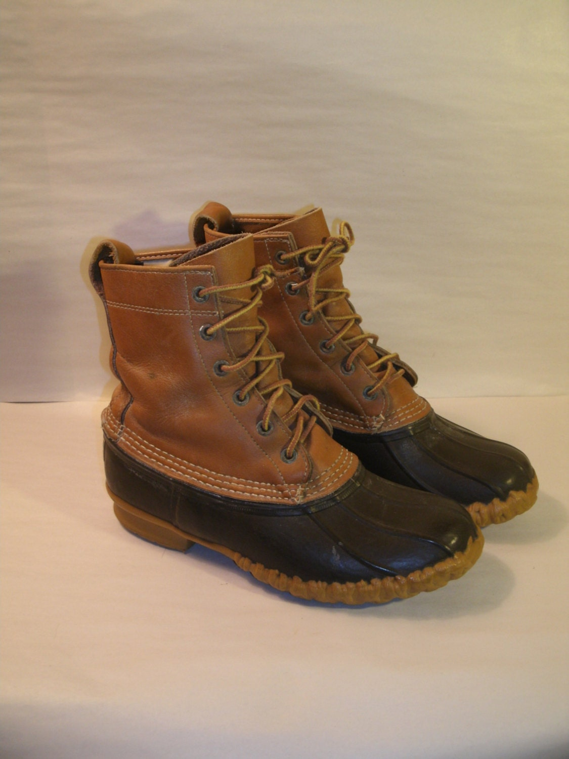 LL Bean Boots Size 6M Duck Hunting Vintage by TheProfessorsAttic