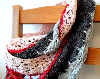 Lovely Lace Cowl pdf Crochet Pattern INSTANT DOWNLOAD