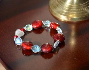 Sweet as a Candy Apple Bracelet