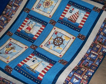 Popular Items For Anchor Quilt On Etsy