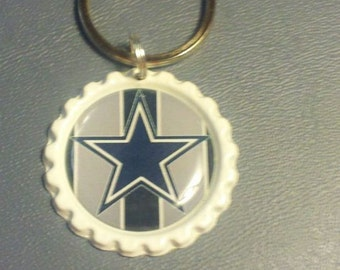Dallas Cowboys Bottlecap keychain