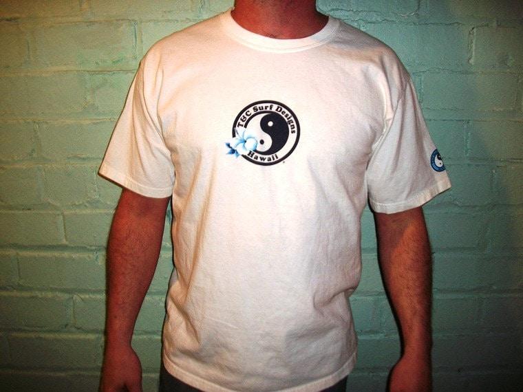 Vintage 80s 90s T C Surf Designs Shirt Tshirt Tee Surf