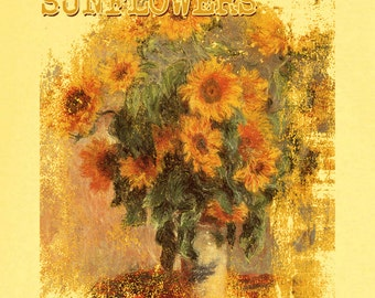 Sunflowers Van Gogh Graphic T-Shirt RC12950