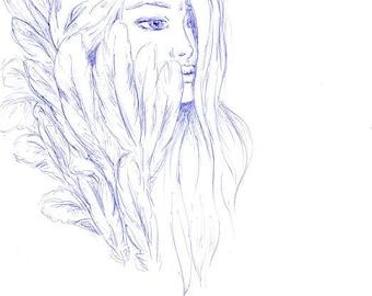 Original artwork - 'Sophia l'