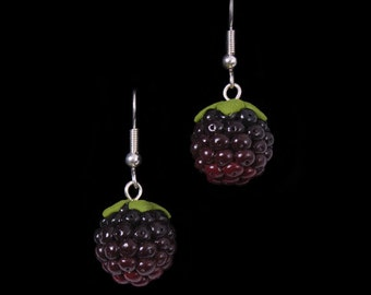 Autumn Blackberry (Bramble) Earrings