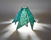 "Custom ""Aztec"" Handmade Paper Lampshade"