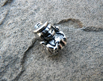 Silver Fairy Charm, Princess Charm, Silver Charm, Pugster Charm, Bracelet Charm, European Charm Bead