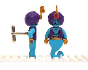 Genie cufflinks. Cufflinks made with LEGO(R) bricks.    Cuff links Cufflink Wedding gift