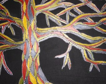 Stained Glass Tree, Original