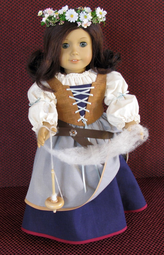 Renaissance Faire Peasant For 18 Inch Doll Clothes Like