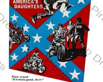Vintage Rock n Roll Wall Art Poster Print Rebel Rouser re-print Various Sizes