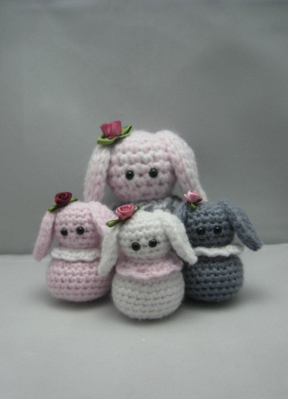 Etsy Amigurumi Bunny : Little Bunnys FREE Amigurumi crochet pattern by NenneDesign