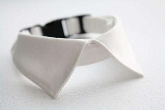 Dog wedding collar cat shirt collar formal adjustable mini for Small collar dress shirt