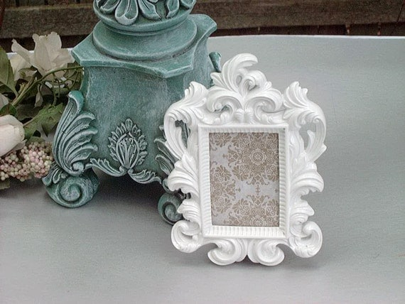 Ornate Picture Frame Wedding Table NUMBERS Wedding Favors 2x3