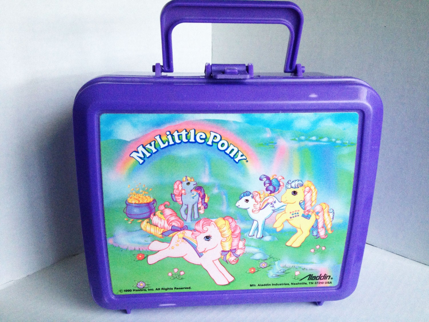 vintage my little pony lunch box. Black Bedroom Furniture Sets. Home Design Ideas