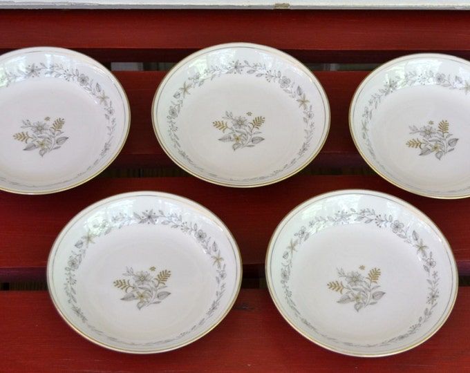 Vintage Wynne Dessert Berry Fruit Bowl by Rose China Japan Pattern 45/236 Set of 5 Replacement Plate PanchosPorch