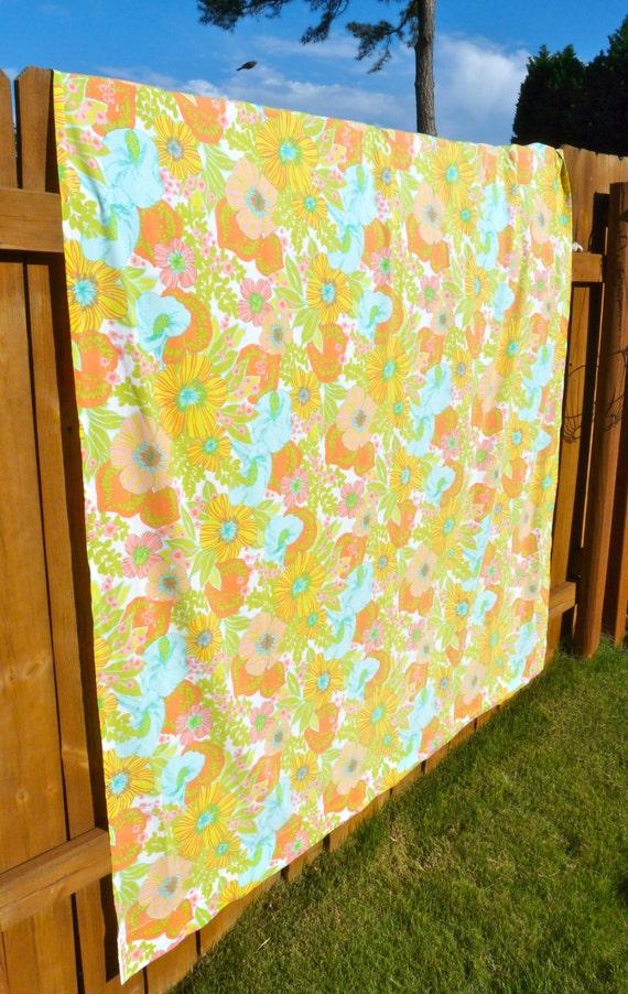 Boho Floral Vintage Retro Shower Curtain Free by floralwonderland