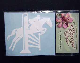 Decal Horse Show Jumper... FREE SHIPPING