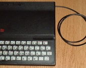 Raspberry Pi inside Sinclair ZX81 USB Keyboard