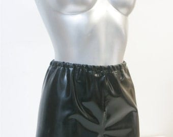 Latex Rubber French Shorts