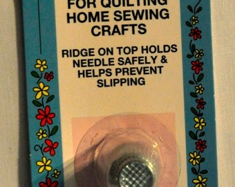Safety Thimble for Quilting and Crafts - Petite Size