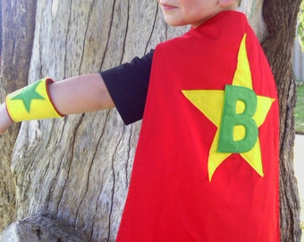 Super-kid/Superhero Cape - Personalised Cape Only, see seperate listing for Set