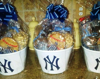 NY Yankees  or Any Sports Team Gift Basket