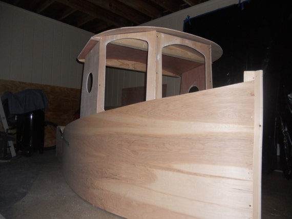 Children's Boat Bed Plans by CharlestonBoatBed on Etsy