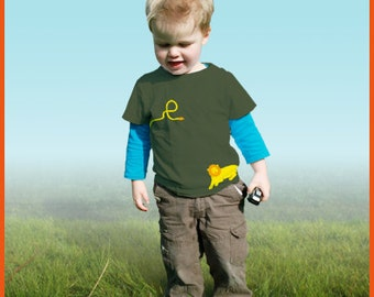 Lion! Personalized kids t-shirts with a lion (and your own text)