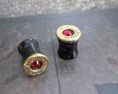 9mm Luger Bullet Gauges 0g Single Sided