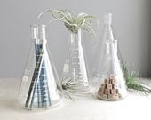 vintage lab glass / 500 mL flask