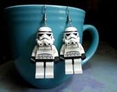 Part Time Sale Stormtrooper Earrings