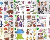 5 Felt / Flannel Board Sets (You Pick) Bundle & Save ............FREE SHIPPING
