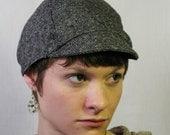 Cycling Cap // TWEED Premium Wool Gray