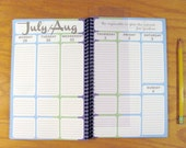 Pick Your Month - Colorblock Planner