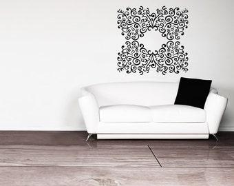 Vinyl Wall Decal Sticker Swirl Decor OSMB1024s