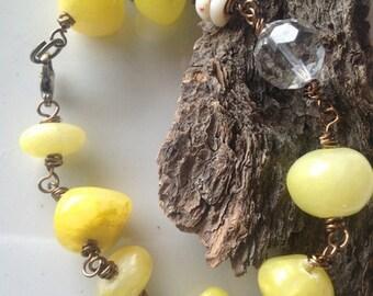 yellow bridesmaid jewelry rustic wedding country theme bracelet country bridesmaid yellow rustic wedding