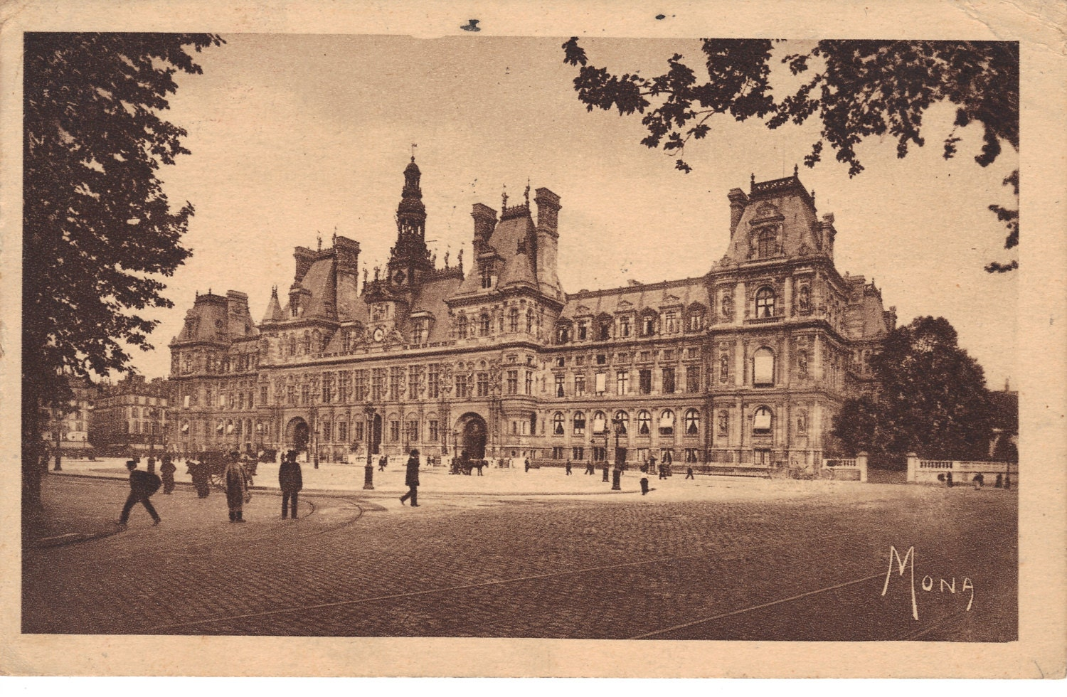 Paris france antique postcard les petits by heritagepostcards - Les petits hauts paris ...