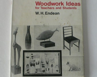 vintage book, Woodwork Ideas for Teachers and Students, 1969, from Diz Has Neat Stuff