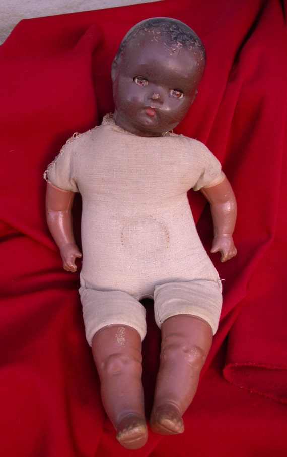 Rare 1930s 1940s Vintage Negro African American Baby Doll