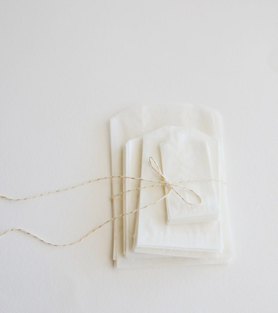 mixed  glassine bags (40 bags)