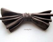 Hair Clip  /Goldy Brown Bow Hair clip/ Wedding,Bridal, Party / Unique Accessory